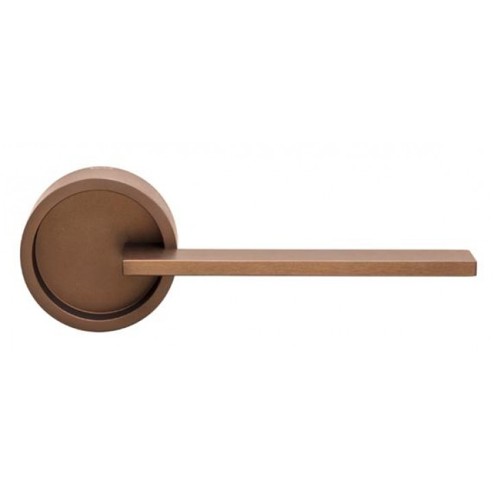 Дверная ручка на розетке DND by Martinelli TIMELESS бронза TL01-ABR