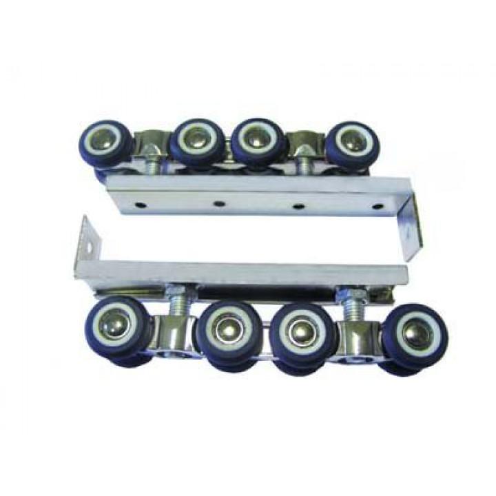 Комплект роликов для раздвижных дверей  100 кг FZB 12-019