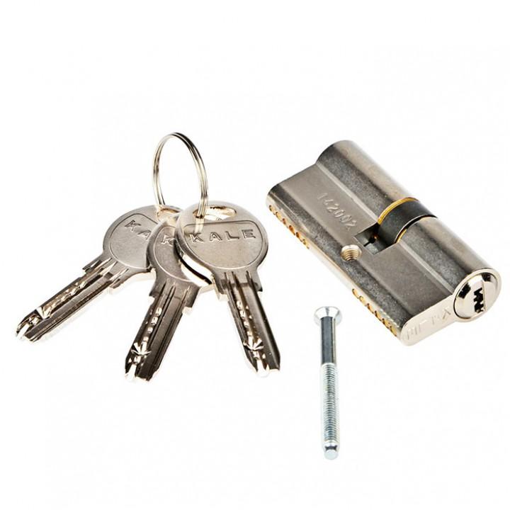 Цилиндр для замка KALE 164 SNC 26+10+32: 68 mm никель 5 ключей