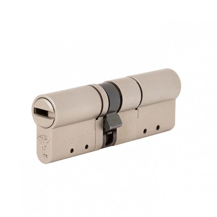 Цилиндр Mul-T-Lock MT5+ 130 мм 55/75 Сатин