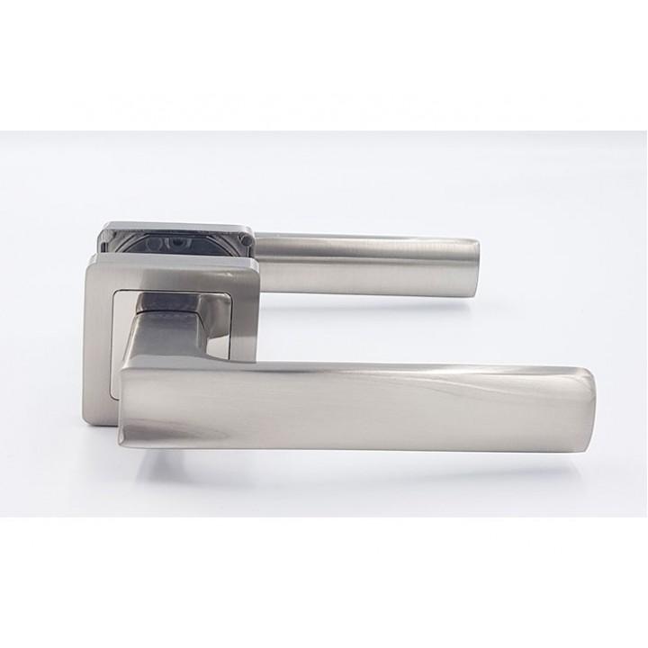 Ручка на квадратной розетке TRION LIBERA 74 AL-AL BSN total