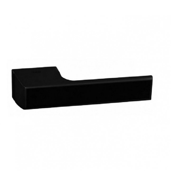 Дверная ручка на розетке Tupai Melody 3099    49522 черный матовый